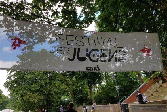 Des Jeunes POP au Festival der Jugend
