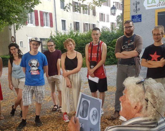 Visite militante de la ville de la Chaux-de-Fonds